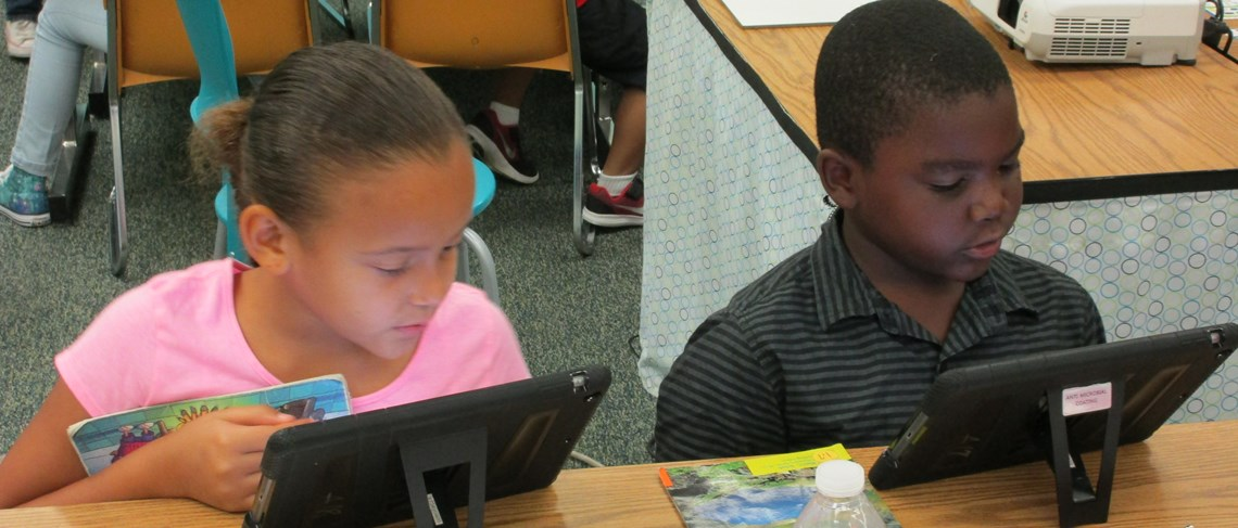 Northcutt students use technology each day as part of an engaging learning environment!